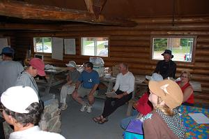 photo of the Friends of Mount Carleton